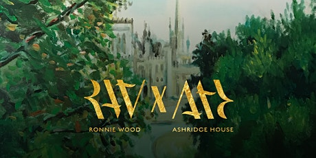 Ronnie Wood x Ashridge House art exhibition 21-27 August 2020 tickets