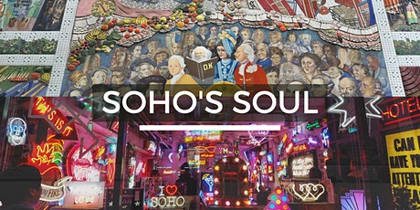 Soho's Soul - Look Up London Virtual Walking Tour tickets