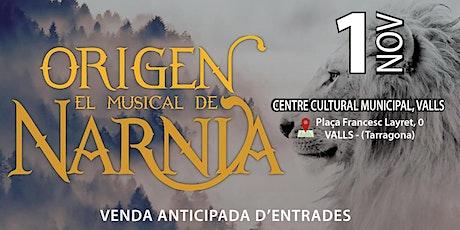 Origen, el musical de Narnia entradas