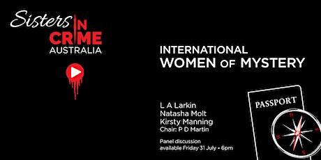 International Women of Mystery Online Panel tickets