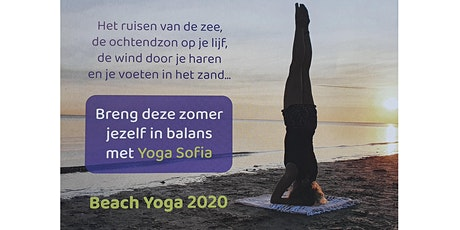 Beach yoga op het strand van Rockanje tickets