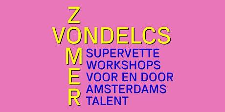 ZomerVondelCS - Een workshop kunst kijken met Laura Bolscher tickets