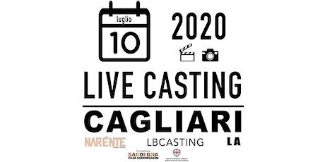 LIVE CASTING CAGLIARI / NUOVI TALENTI PER CINEMA+MODA biglietti