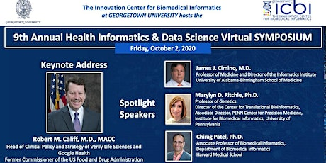 9th Annual Health Informatics & Data Science Virtual SYMPOSIUM tickets