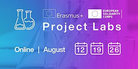 Erasmus+ and European Solidarity Corps Project Lab Webinar Series tickets