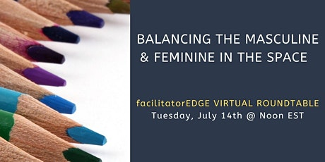 Balancing the Masculine & Feminine in the Space tickets