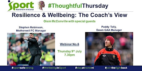 #ThoughtfulThursday with Stephen Robinson & Paddy Tally - The Coach's View tickets