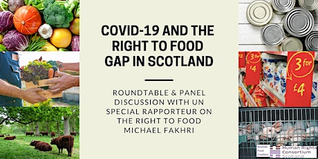 Covid-19 and the Right to Food Gap in Scotland tickets