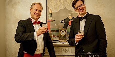 ZAUBERSALON RHEINLAND *** Die neue Dinnershow in DÜSSELDORF: AbraCadabra Tickets