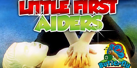 Copy of Little First Aiders - Fun First Aid 4 Kids - PINNER tickets