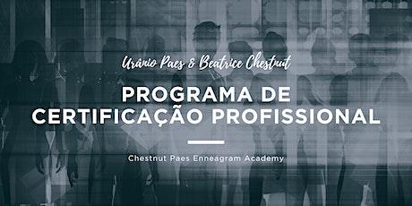 Programa de Certificação Profissional CP Enneagram Academy ingressos