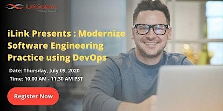 iLink Presents : Modernize Software Engineering Practice using DevOps entradas