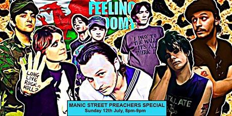 Feeling Gloomy Live Stream - Manic Street Preachers Special (Free) tickets