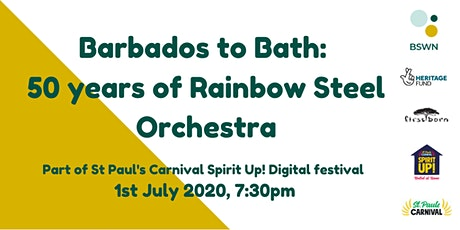 Barbados to Bath:  50 years of Rainbow Steel Orchestra tickets