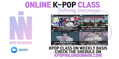 K-POP ONLINE DANCE CLASS | KPOPINLONDONMIN tickets