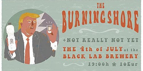 Burning Shore + Not Really Not Yet entradas