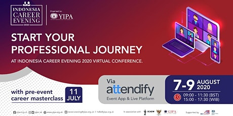 Indonesia Career Evening 2020 Virtual Conference tickets