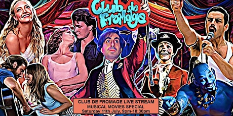Club de Fromage - Musical Movies Special Live Stream (Free) tickets