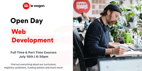 [Online] Open Day - Discover our Web Development Bootcamp tickets