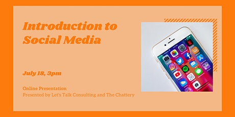 Introduction to Social Media  - ONLINE CLASS tickets