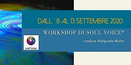 Iniziazione al Soul Voice® biglietti