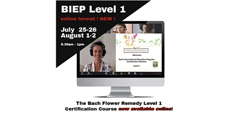 Bach Flower Remedies Level 1 -Introductory course tickets