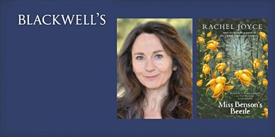 Join author Rachel Joyce online as sh...