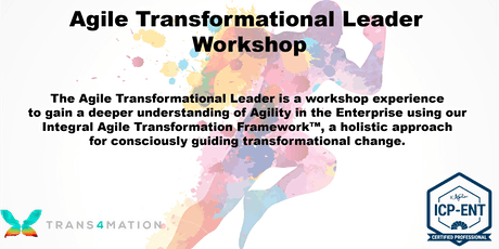 Agile Transformational Leader™ Workshop (ICP-ENT) - REMOTE tickets
