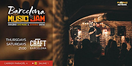 Barcelona Music + Jam = Free Live Music tickets