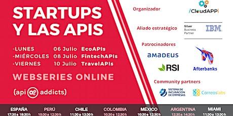 Startups y las APIs tickets
