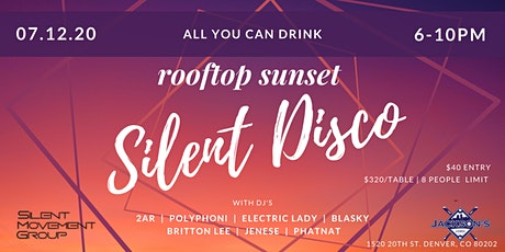 All You Can Drink Rooftop Sunset Silent Disco tickets