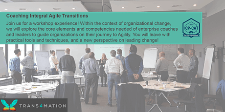 Coaching Integral Agile Transitions (ICP-CAT) - REMOTE tickets