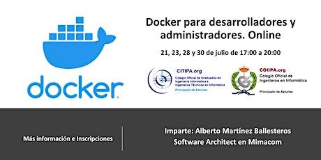 Docker para desarrolladores y administradores entradas