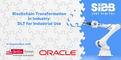 Blockchain Transformation in Industry: DLT for Industrial Use tickets