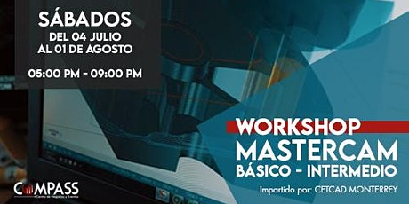 Workshop Mastercam | Básico - Intermedio boletos