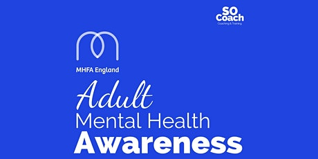 Mental Health Awareness Virtual Course on the 20th November tickets