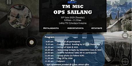 TM MSC Ops Sailang tickets