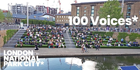 100 Voices from London National Park City tickets