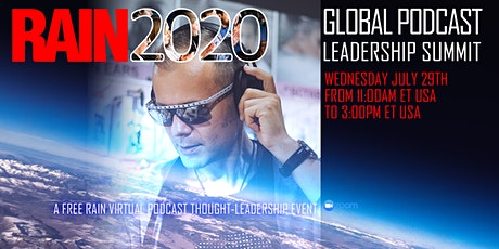 RAIN Global Podcast Leadership Summit tickets