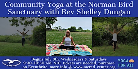 Community Yoga at Norman Bird Sanctuary with Rev Shelley Dungan tickets