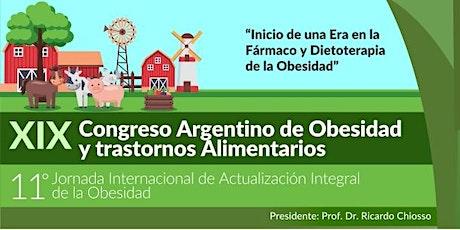 XIX Congreso Argentino de Obesidad y Trastornos Alimentarios entradas