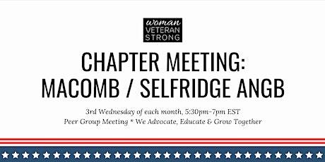 Woman Veteran Strong: Chapter Meeting (Selfridge ANGB) tickets
