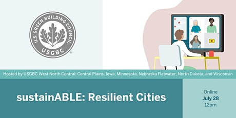 sustainABLE: Resilient Cities tickets
