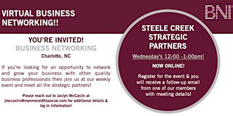 Steele Creek Strategic Partners | VIRTUAL Weekly Meeting tickets