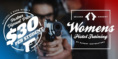Ladies Only Handgun 1 - Basic Pistol Operation - 8/15 - 9AM Start tickets