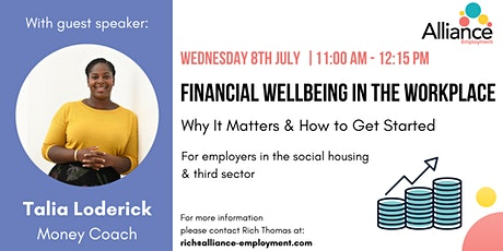Financial Wellbeing in the Workplace: Why it Matters and How to Get Started tickets