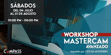 Workshop Mastercam | Avanzado boletos