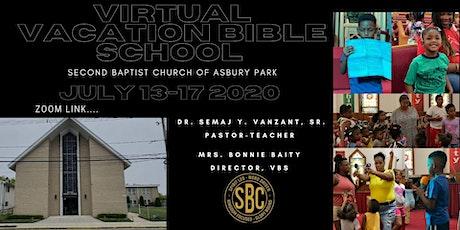 Second Baptist Church Virtual Vacation Bible School tickets