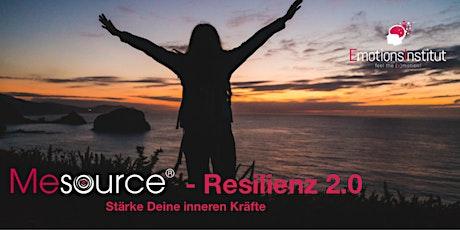 Mesource - Resilienz 2.0 kennenlernen Tickets