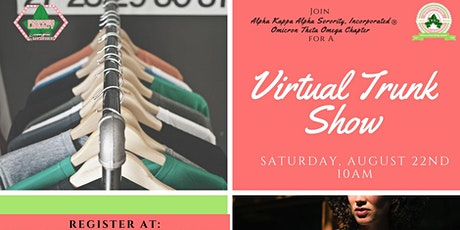 Virtual Trunk Show tickets